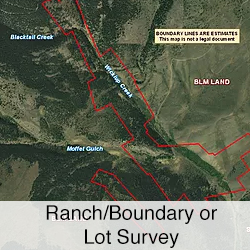 Ranch / Boundary Lot Surveys